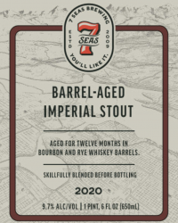 2020 Bourbon Barrel-aged Imperial Stout