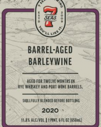 2020 Bourbon Barrel-aged Barley Wine 2